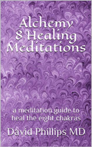 Book cover1 05-07-20 Alchemy 8 Healing Meditations a meditation guide to heal the eight chakras - Kindle edition by Philli[...](1)